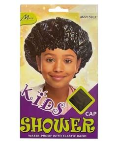 Kids Water Proof Shower Cap M2215BLK