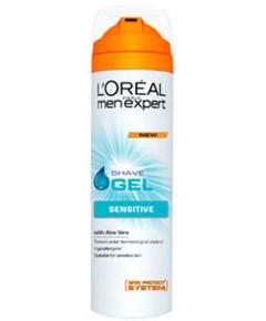 Men Expert Sensitive Shave Gel With Aloe Vera