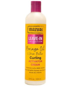 Leave In Collection Curling Activator Cream