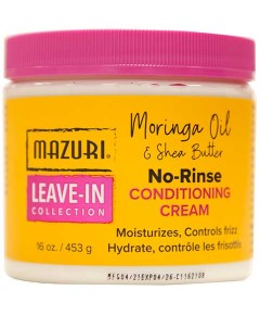 Leave In Collection No Rinse Conditioning Cream