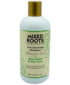 Compounds Curls Cleansing Shampoo With Shea Butter And Aloe Vera