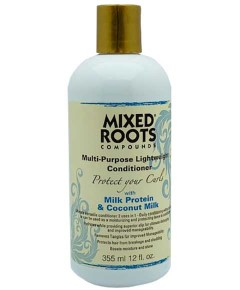 Compounds Multi Purpose Lightweight Conditioner With Milk Protein And Coconut Milk