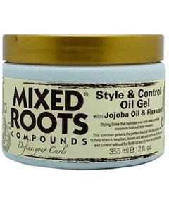 Compounds Style And Control Oil Gel With Jojoba And Flaxseed
