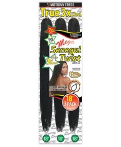 Motown Tress Syn CST Mega 3 X Senegal Twist Braid