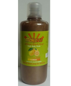 Makazo African Black Soap Lemon Daily Body Wash
