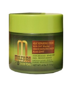 Organics Olive Oil Heat Repairing Creme with DHT Blocker