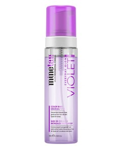 Minetan Everyday Glow Violet Color Base Gradual Tan Foam
