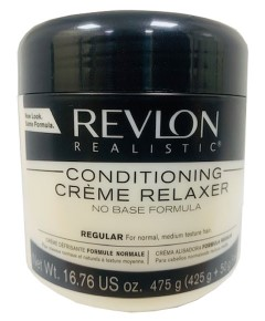 Revlon Realistic Conditioning Creme Relaxer New Pack