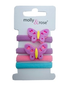 Butterfly Hair Grips Assorted
