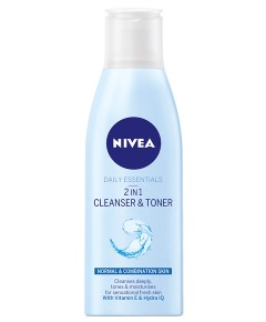 Nivea Visage Refreshing 2 In 1 Cleanser Toner
