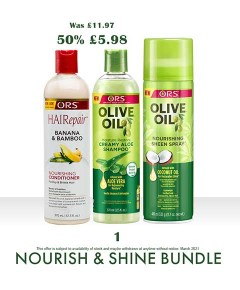 ORS Mothers Day Nourish And Shine Bundle 1