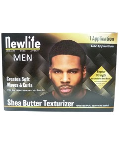 New Life Men Shea Butter Texturizer