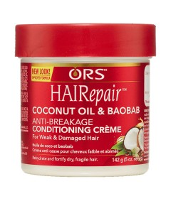 ORS Hairepair Coconut Oil And Baobab Anti Breakage Creme