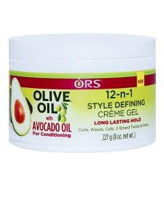 ORS Olive Oil With Avocado Oil 12 In1 Style Defining Creme Gel