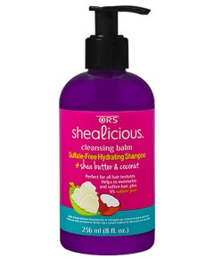 ORS Shealicious Cleansing Balm Sulfate Free Hydrating Shampoo