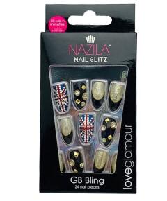 Nail Glitz Love Glamour GB Bling