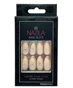 Nail Glitz Love Glamour Ladies Club Nude