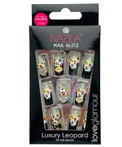Nail Glitz Love Glamour Luxury Leopard