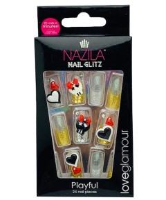 Nail Glitz Love Glamour Playful
