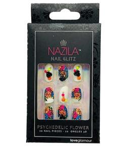 Nail Glitz Love Glamour Psychedelic Flower