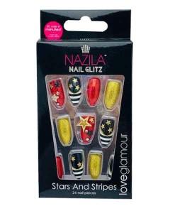 Nail Glitz Love Glamour Stars And Stripes
