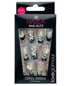 Nail Glitz Love Glamour Glitzy Zebra