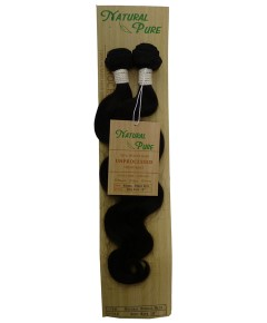 Unprocessed Virgin Remy HH Natural Bundle Hair Body Wave