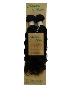 Unprocessed Virgin Remy HH Natural Bundle Hair Spanish Wave