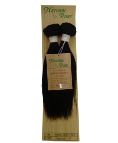 Unprocessed Virgin Remy HH Natural Bundle Hair Straight