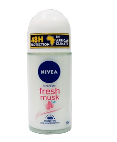 Fresh Musk 48H Deodorant Roll On
