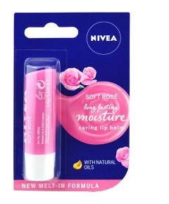 Soft Rose Moisture Caring Lip Balm