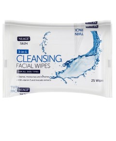 Nuage 3 In 1 Skin Cleansing Wipes