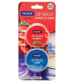 Nuage Strawberry And Original Lip Balm