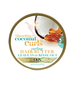 Quenching Coconut Curls Curling Hair Butter