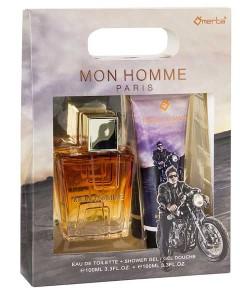 Mon Homme Paris Eau De Toilette And Shower Gel Gift Set