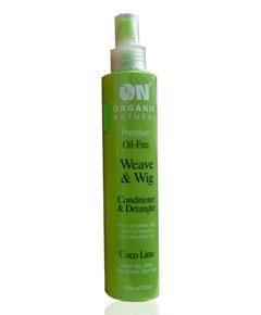 Organic Natural Weave Wig Conditioner Detangler
