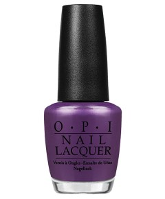 Nail Lacquer Purple With A Purpose