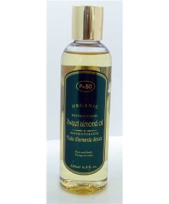 P 50 Organic Restructuring Sweet Almond Oil