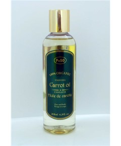 Organic Carrot Oil for Face and Body