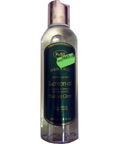 P 50 Organic Stimulating Lemon Oil