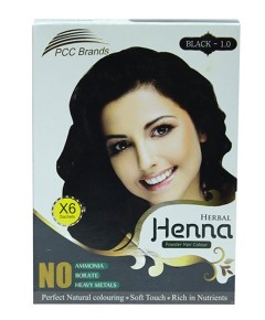 PCC Brands Black Herbal Henna Powder Hair Colour