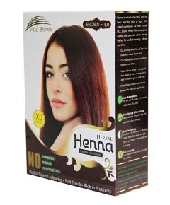 PCC Brands Brown Herbal Henna Powder Hair Colour