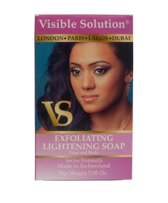 Visible Solution Exfoliating  Soap