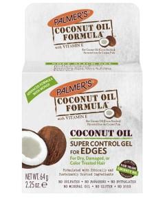 Coconut Oil Formula Super Control Gel For Edges