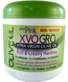 Pink XVO Gro Xtra Virgin Olive Oil Rich and Creamy Hairdress