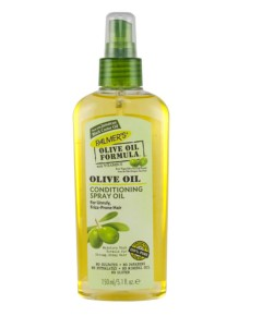 Olive Oil Formula Conditioning Spray Oil