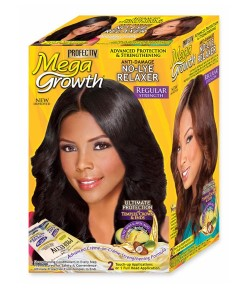 Mega Growth Anti Damage No Lye Relaxer