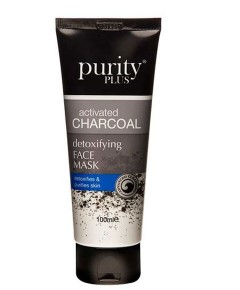 Purity Plus Activated Charcoal Detoxifying Face Mask