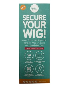Secure Your Wig Strap
