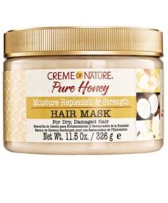 Pure Honey Moisture Replenish And Strength Hair Mask